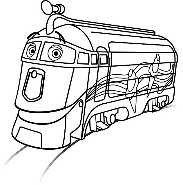 Chuggington Trein Kleurplaat Treno Chuggington Disegni Da Colorare Categoria Treni