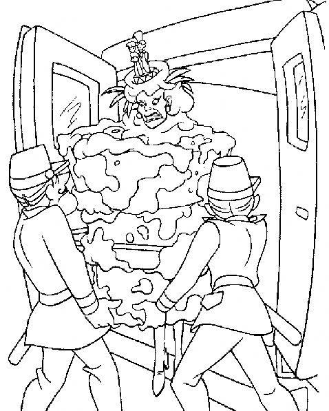 Disegni da colorare crudelia demon carica dei 101 disegni for La carica dei 101 disegni da colorare