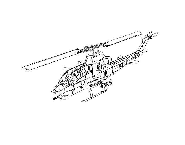Elicottero Militare Difficile Da Colorare Disegni Da Colorare