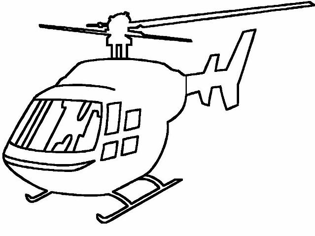 Grande Elicottero Disegno Da Colorare Disegni Da Colorare
