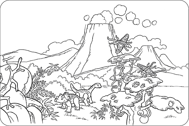 Disegni per bambini da colorare dinosauri disegni da for Disegni da colorare dinosauri
