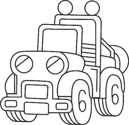 Disegni da colorare per bambini jeep disegni da colorare for Jeep da colorare