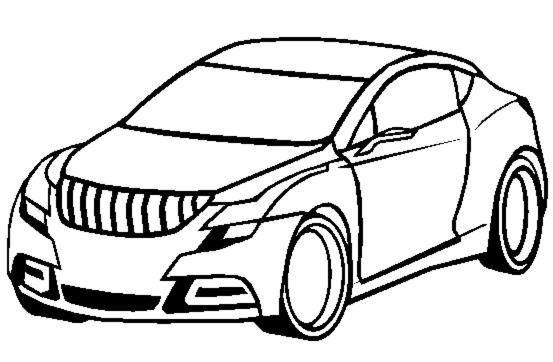 Disegni per bambini macchina da colorare disegni da for Disegni da colorare e stampare di cars