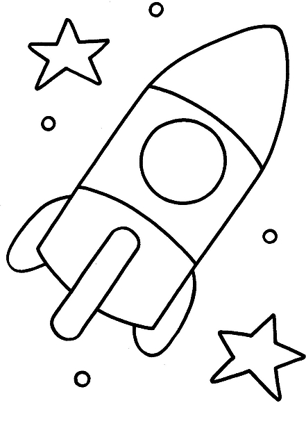 Disegni da colorare per bambini razzo disegni da colorare - Immagini stampabili a razzo ...