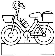 Disegni Da Colorare Per Bambini Bicicletta Bimba Disegni Da Colorare