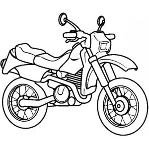Disegni da colorare per bambini motocicletta disegni da - Disegno di immagini di veicoli ...