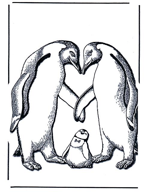 Pinguini Animali Da Colorare Per Bambini Disegni Da Colorare