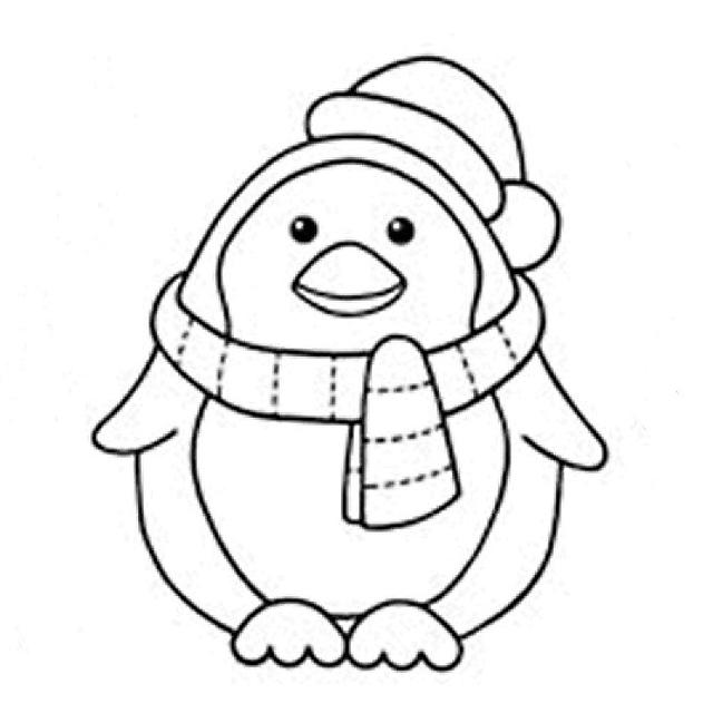 Disegni Da Colorare Pinguini.Pinguino Tondo Con La Sciarpa Da Colorare Per Bambini Disegni Da Colorare Categoria Pinguini Magiedifilo It Punto Croce Uncinetto Schemi Gratis Hobby Creativi